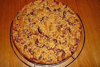 Zwetschgen-Streuselkuchen mit Pudding 77