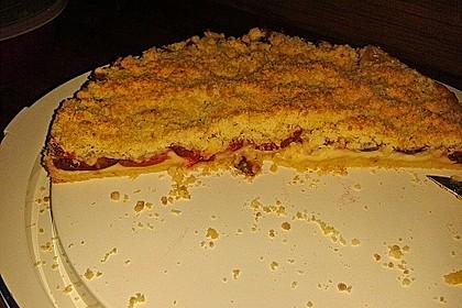 Zwetschgen-Streuselkuchen mit Pudding 105