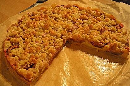 Zwetschgen-Streuselkuchen mit Pudding 110
