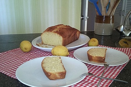Getränkter Zitronenkuchen 5