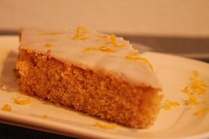 Getränkter Zitronenkuchen (Bild)