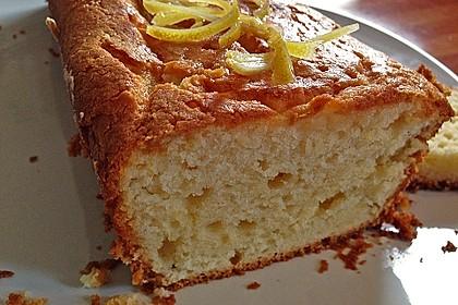 Getränkter Zitronenkuchen 6