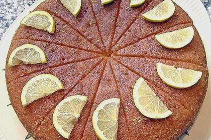 Getränkter Zitronenkuchen 2