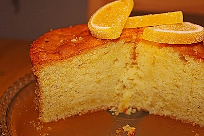 Getränkter Zitronenkuchen 9