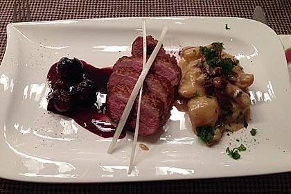 Steinpilz - Rahmkartoffeln mit Entenbrust 8