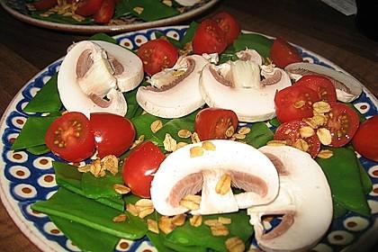 Zuckerschoten-Salat (Bild)