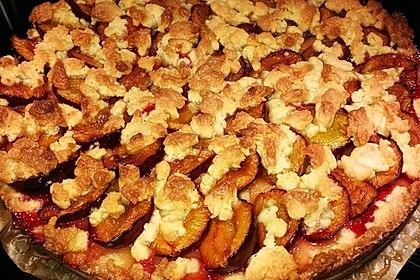 Pflaumenkuchen mit Streuseln 14