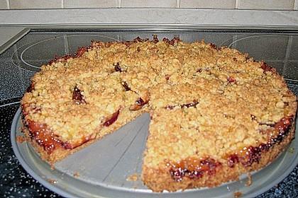 Pflaumenkuchen mit Streuseln 111