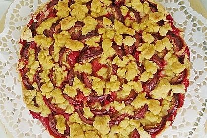 Pflaumenkuchen mit Streuseln 82