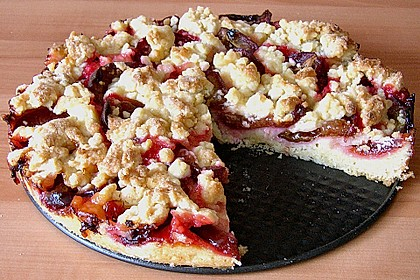Pflaumenkuchen mit Streuseln 34