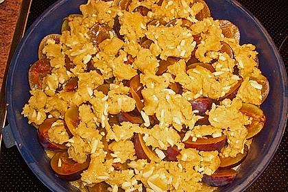 Pflaumenkuchen mit Streuseln 124