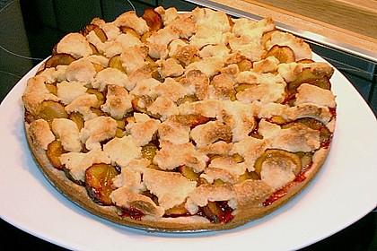 Pflaumenkuchen mit Streuseln 108