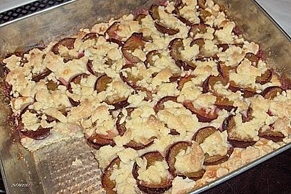 Pflaumenkuchen mit Streuseln 112