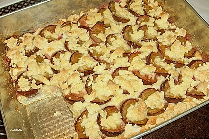 Pflaumenkuchen mit Streuseln 122
