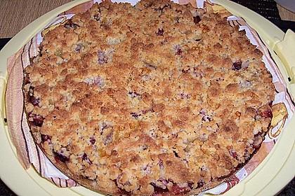 Pflaumenkuchen mit Streuseln 100