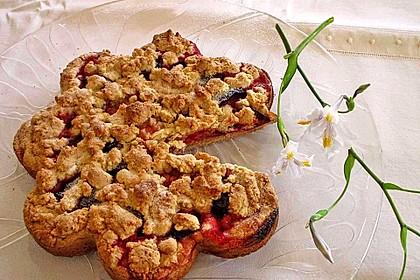 Pflaumenkuchen mit Streuseln 47