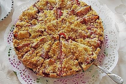 Pflaumenkuchen mit Streuseln 22