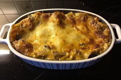 Lasagne mit Hackfleisch und Pilzen 4