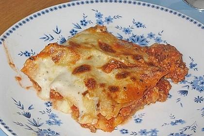 Lasagne mit Hackfleisch und Pilzen 1