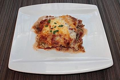 Lasagne mit Hackfleisch und Pilzen 8