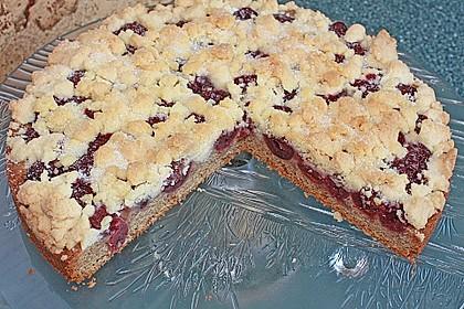 Easy Streuselkuchen mit Obst 5
