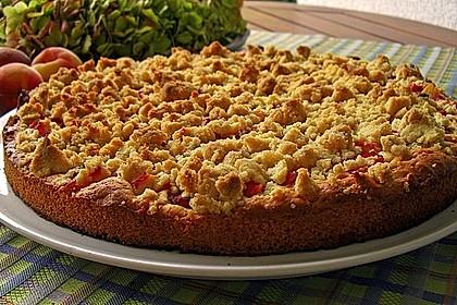Easy Streuselkuchen mit Obst 1