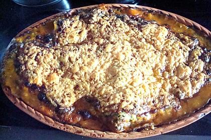 Lachs-Lasagne mit Spinat (Bild)