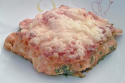 Lachs-Lasagne mit Spinat 99