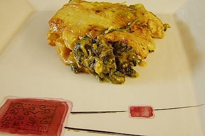 Lachs-Lasagne mit Spinat 67