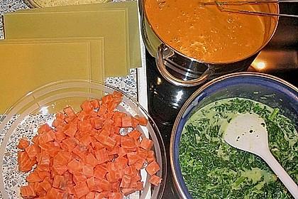 Lachs-Lasagne mit Spinat 40