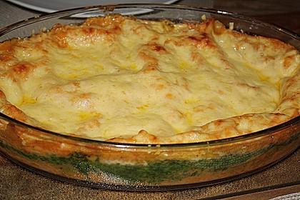 Lachs-Lasagne mit Spinat 28