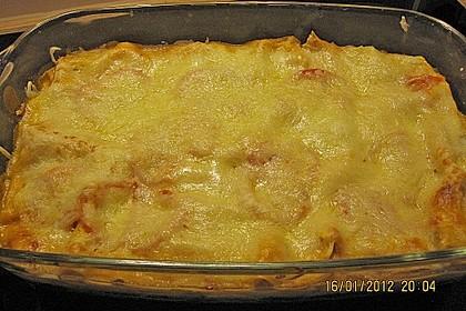 Lachs-Lasagne mit Spinat 130