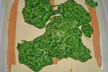 Lachs-Lasagne mit Spinat 117
