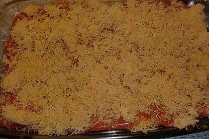 Lachs-Lasagne mit Spinat 127