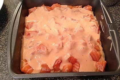 Lachs-Lasagne mit Spinat 70