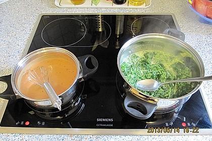 Lachs-Lasagne mit Spinat 72