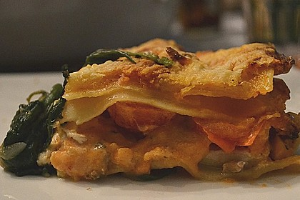 Lachs-Lasagne mit Spinat 33