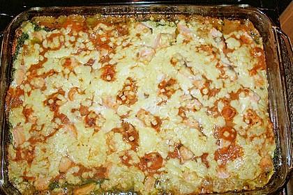 Lachs-Lasagne mit Spinat 113