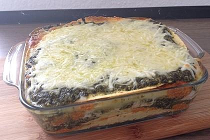 Lachs-Lasagne mit Spinat 37