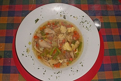 Mutters Hühnersuppe 13