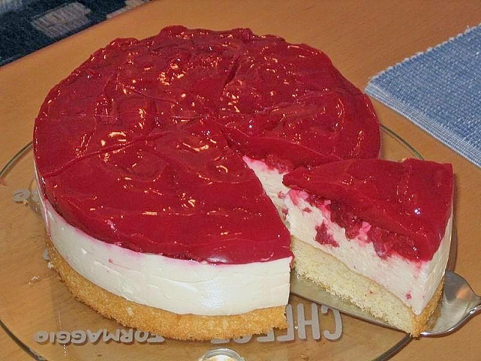 Himbeer Vanillecreme Torte Von Stetim Chefkoch De