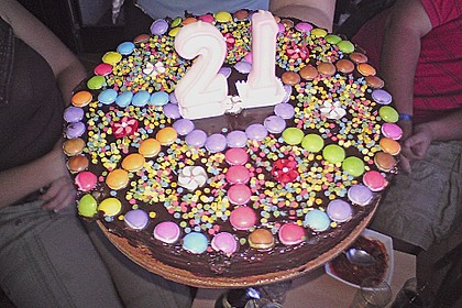 Geburtstags - Schokoladentorte 4