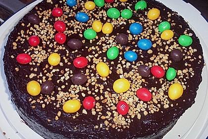 Geburtstags - Schokoladentorte 10