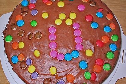 Geburtstags - Schokoladentorte (Bild)