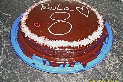 Geburtstags - Schokoladentorte 11