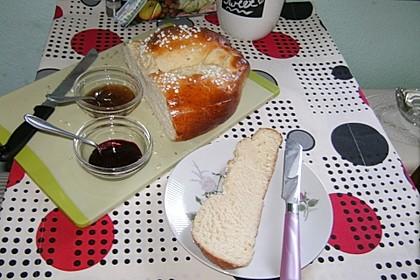 Hefezopf mit Quark statt Butter im Teig 1