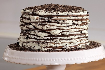 Oreo-Mille Crêpes-Torte