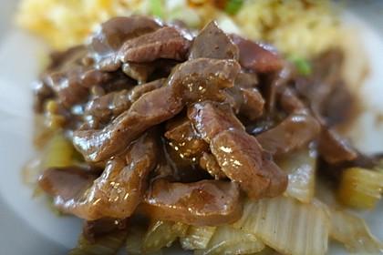 Würziges Rindfleisch aus Sichuan