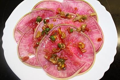 Melonenrettich à la Klaumix