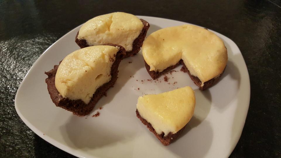 Kasekuchen Muffins Mit Schokoboden Chefkoch De
